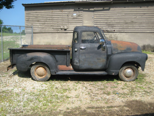 1950 chevy 1 2 ton truck 5 window true barn find for sale photos technical specifications. Black Bedroom Furniture Sets. Home Design Ideas