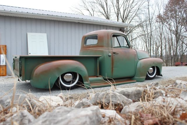1950 chevy 3100 bagged rat hot rod patina pickup truck slammed 48 49 Bare Metal Rat Rod 1950 chevy 3100 bagged rat hot rod patina pickup truck slammed 48 49 50 51 52 53