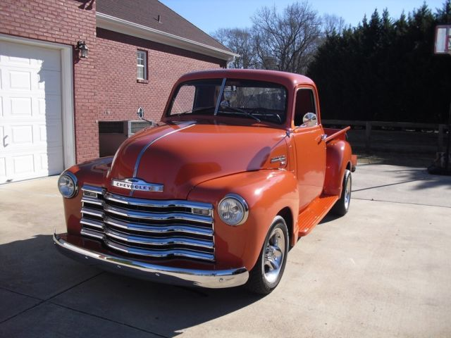 1950 CHEVY 3100, Show Truck, Frame Off Restoration, PS,PB AC