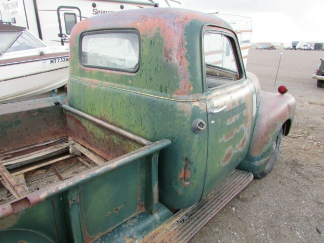 1950 Green Chevrolet Other Pickups Standard Cab Pickup
