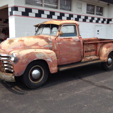 1950 Chevy 3800 series pickup for sale: photos, technical ...