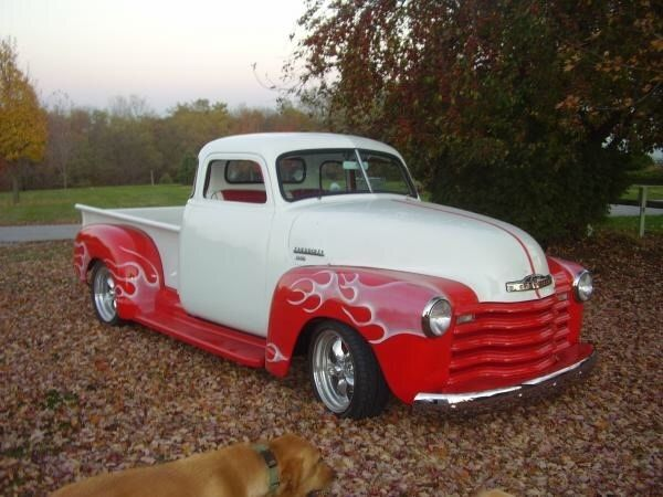 1950 chevy 5 window classic pickup truck for sale photos technical specifications description. Black Bedroom Furniture Sets. Home Design Ideas