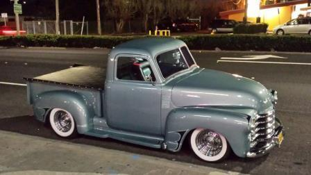1950 Chevy Custom 3 window 3100 pickup for sale photos