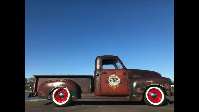 1950 Patina Chevrolet Other Pickups 3100 Standard Cab Pickup with White interior