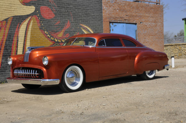 1950 Chopped Fully Custom Pontiac Chieftain With 455