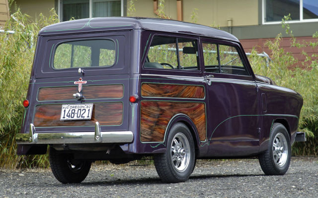 1950 Other Makes : Crosley : Tin Woody