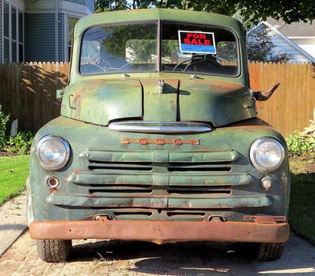 1950 Dodge 3 4 Ton Truck W Title For Sale Photos Technical
