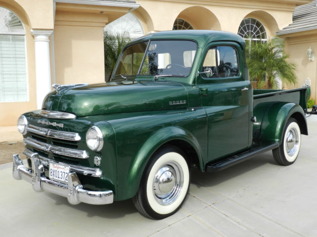 1950 Dodge Pick up, Restored, Magnificent for sale: photos, technical specifications, description