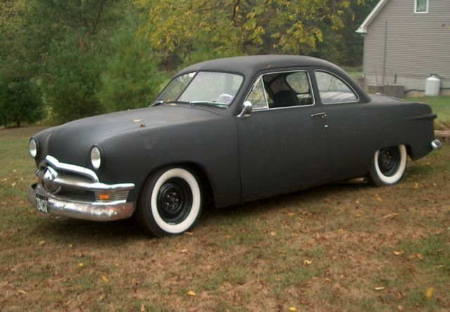 1950 Ford 2 Door Coupe Hot Rat Rod
