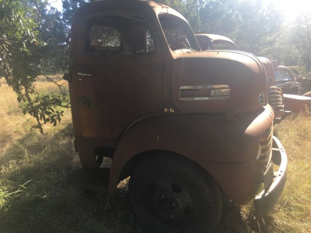 1950 FORD COE ***3 CABS, 2 CHASSIS PLUS PARTS**** GREAT