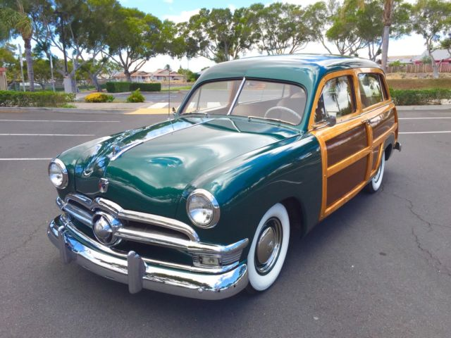 1950 Ford Country Squire Woody Wagon