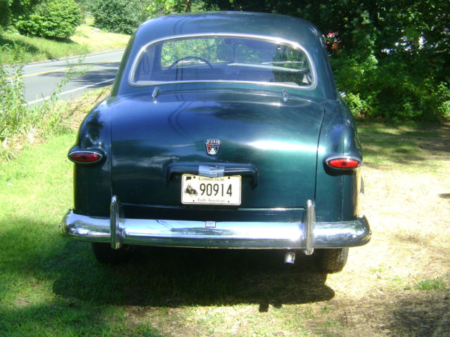1950 ford custom dark green 2 door standard for sale for 1950 ford custom 2 door