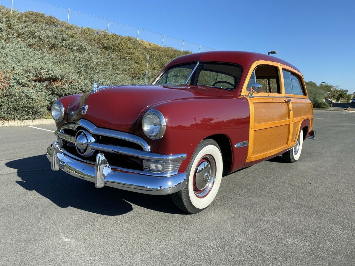 1950 Ford Custom Deluxe Woody