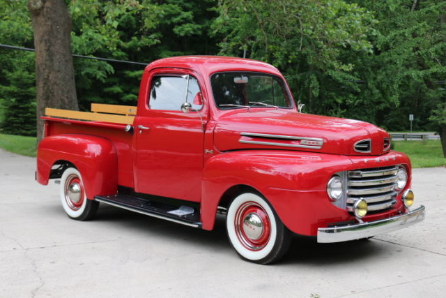 1950 ford f1 pick up flathead v8 pristine for sale photos technical specifications description. Black Bedroom Furniture Sets. Home Design Ideas