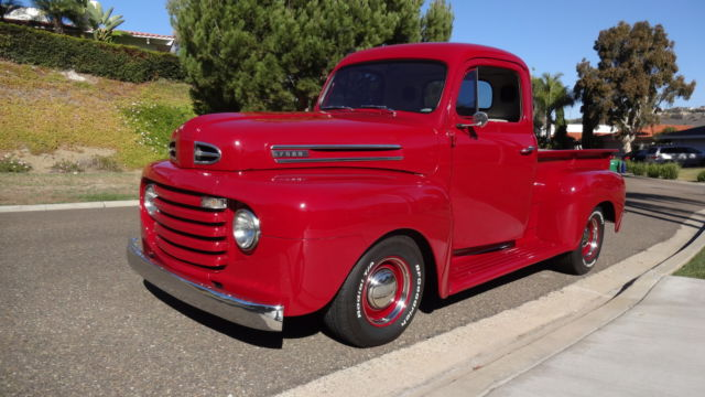 1950 ford f1 pickup truck 1 2 ton for sale photos technical specifications description. Black Bedroom Furniture Sets. Home Design Ideas