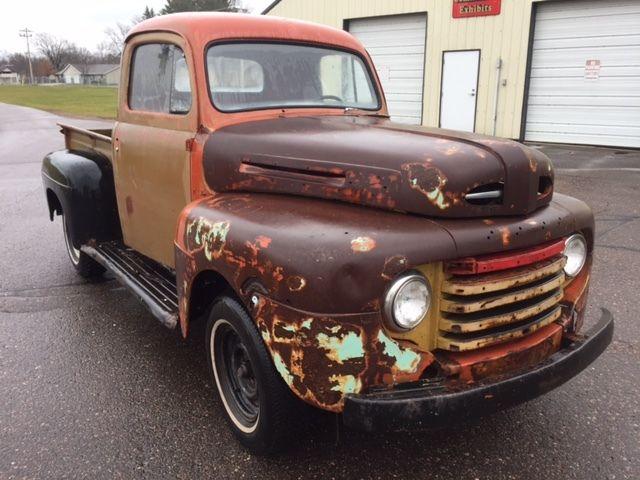 Ford F Short Box Half Ton Pickup Truck Rat Rod Hot Rod F F