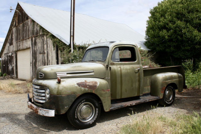 1950 Ford Other Pickups F1, Original California Truck