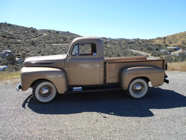 1950 Ford Other Pickups Brown