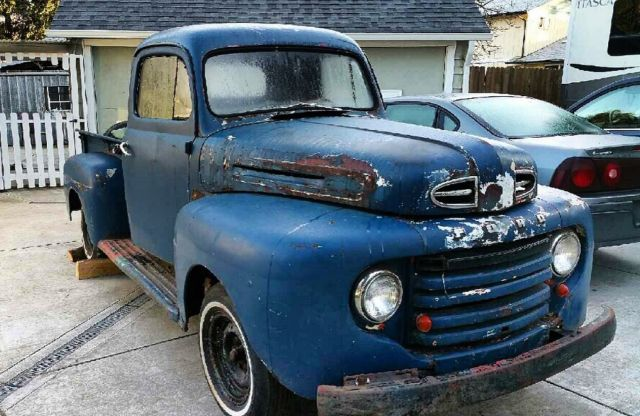 1950 Ford F100 F1 Rat Rod Patina Restomod All Steel For