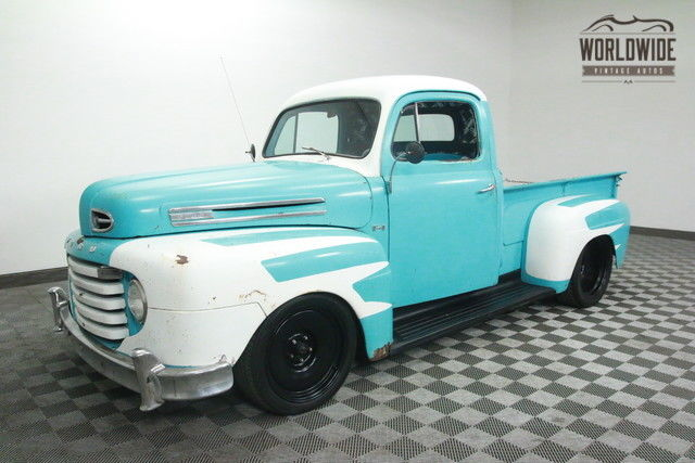 1950 Ford F100 RAT ROD PICKUP. ZZ4 350 V8!