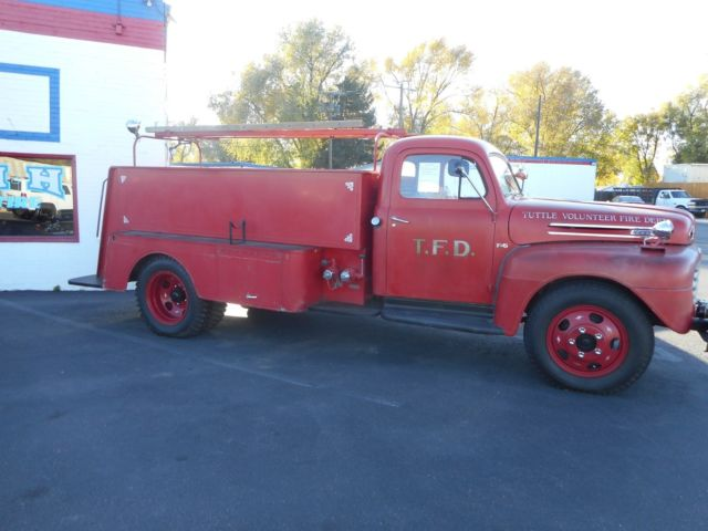 1950 Ford Fire Truck F5