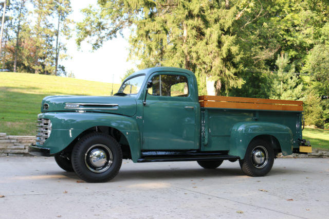 1950 ford pick up f 2 complete professional restoration express truck for sale photos. Black Bedroom Furniture Sets. Home Design Ideas