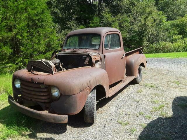 1950 Ford F-100 Extended Crew Cab Pickup