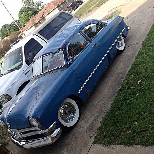 1950 Ford Tudor Sedan Shoebox Damaged Fresh Build Flathead ...  1950 Ford Tudor...