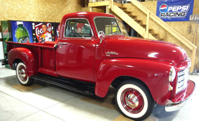 1950 gmc pickup for sale photos technical specifications description. Black Bedroom Furniture Sets. Home Design Ideas