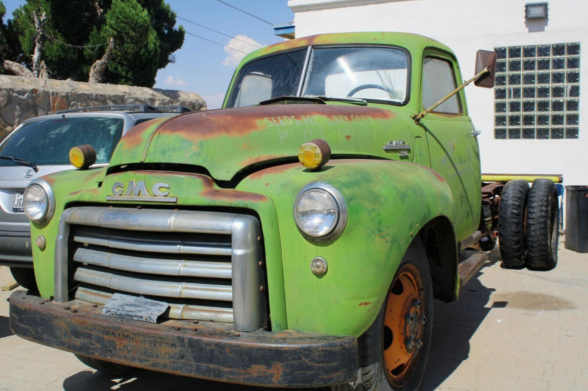 1950 Gmc Truck Series 350 2 Ton Nice Patina West Texas Truck