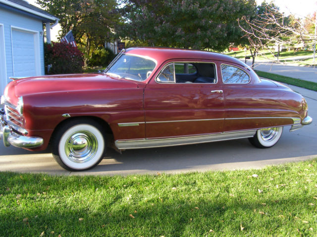 1950 Other Makes Hudson Super 6 Club Coupe Super 6