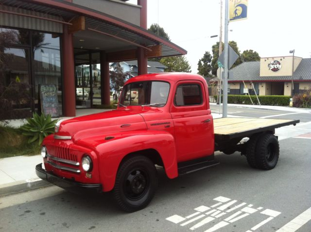 1950 international l 130 dually flat bed truck for sale photos technical specifications. Black Bedroom Furniture Sets. Home Design Ideas