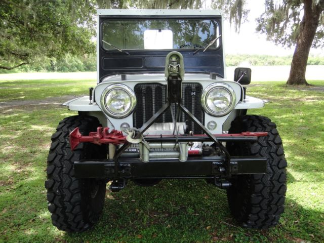 1950 Willys CJ3A LIFTED 35S 4X4 1/2 CAB
