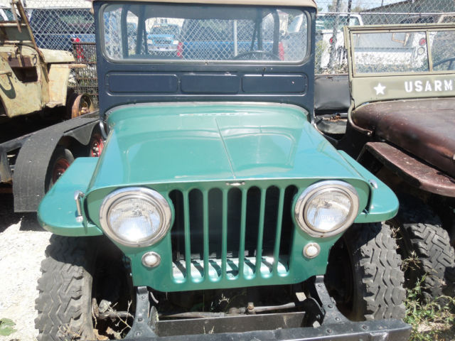 1950 Willys cj