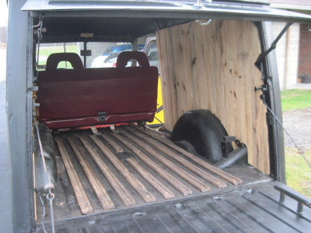 1950 JEEP WILLYS OVERLAND WAGON/PANEL RAT ROD ON S10 FRAME