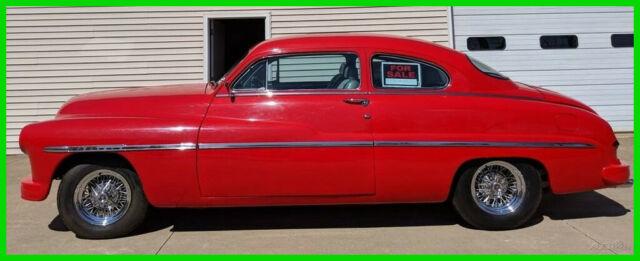 1950 Mercury 2 Door Sedan 350 ci Chevy Engine Rebuilt TH350
