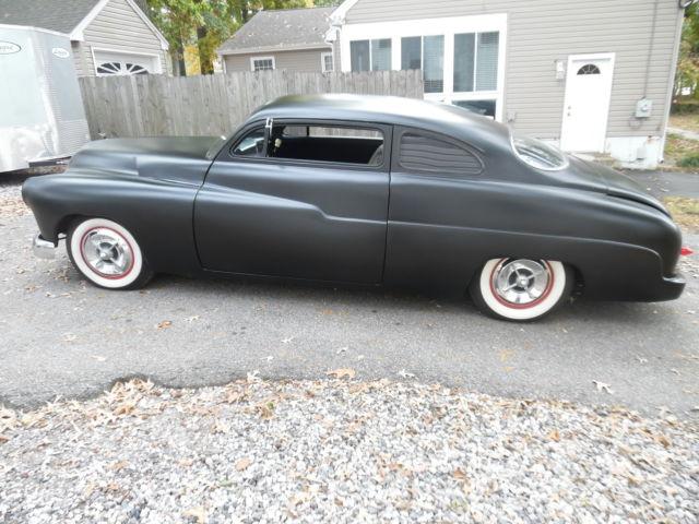 1950 mercury chop top chopped kustom lead sled 2 door rat rod custom car for sale photos. Black Bedroom Furniture Sets. Home Design Ideas