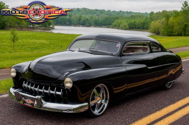 1950 mercury coupe custom chopped top sled for sale photos technical specifications description. Black Bedroom Furniture Sets. Home Design Ideas