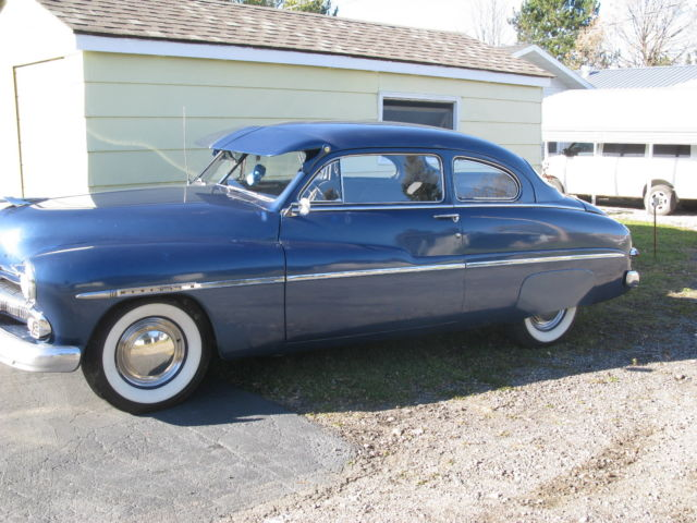 1950 Mercury 2 door coupe