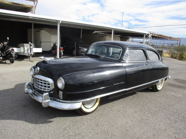 1950 Nash Ambassador Custom