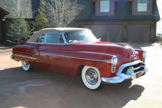 1950 oldsmobile 98 convertible for sale photos technical for Classic american convertibles for sale