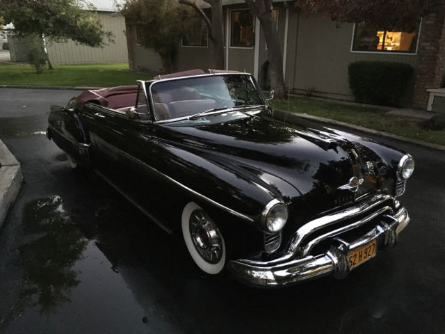 1950 Oldsmobile Eighty-Eight Futuramic Deluxe Convertible