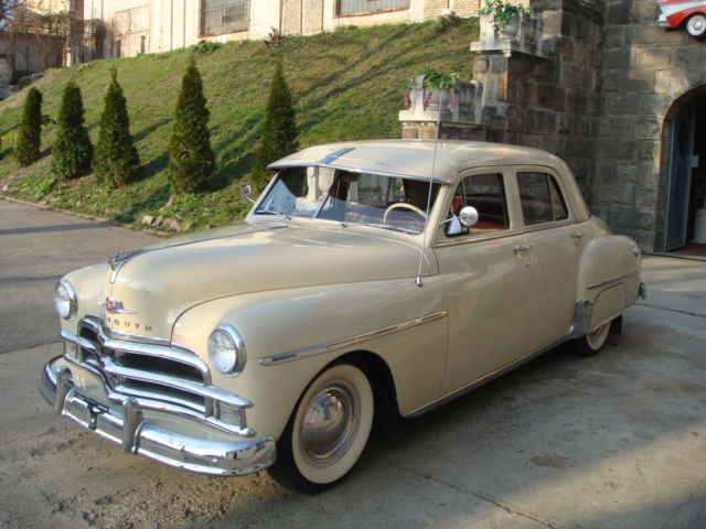 1950 plymouth special deluxe 4 door sedan like new for