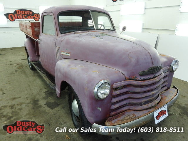 1950 Chevrolet C/K Pickup 3500 Runs Drives Body Inter VGood 235 I6 4spd man