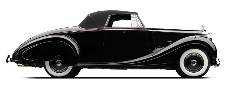 1950 Rolls-Royce SILVER WRAITH WORLD'S RAREST ROLLS ROYCE ROADSTER