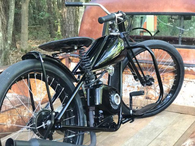 1950 Simplex Servicycle Motorcycle Old School Bobber Hot Rat