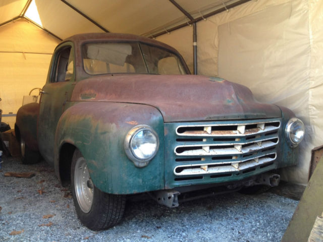 1950 studebaker 2r pickup truck hot rod project hard to