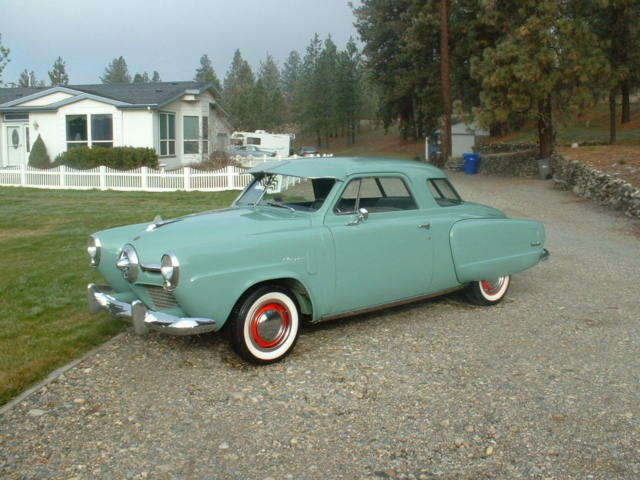 1950 Studebaker Champion Regal Deluxe Starlight Coupe