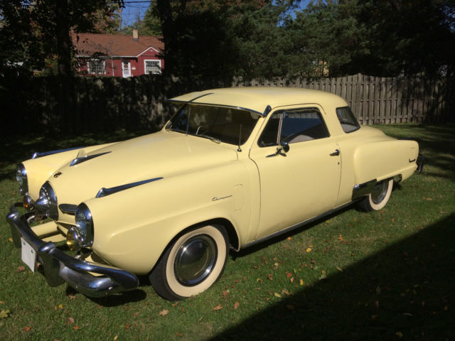 1950 Studebaker Champion Starlite Coupe Bullet Nose