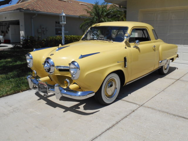 1950 Studebaker Starlight Regal Coupe for sale: photos, technical